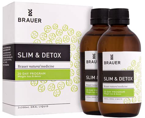 What Is The Best Liquid Detox Diet by Brauer Slim Detox Liquid 200ml 2pk Great Daily