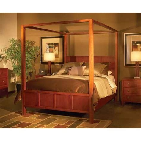 wood canopy bed wood canopy beds kerala home design and floor plans