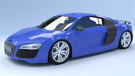 Audi R8 Model by Audi R8 Model Turbosquid 1249921