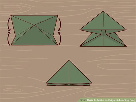 Leaping Frog Origami - the best ways to make an origami jumping frog wikihow