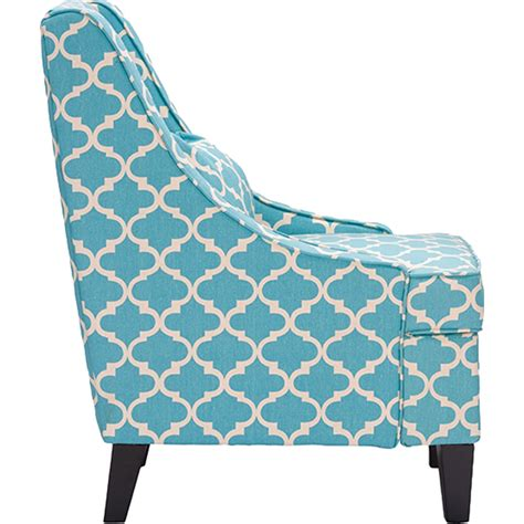 patterned armchair lotus patterned armchair blue dcg stores