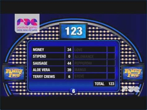 family feud fast money powerpoint template family feud powerpoint template