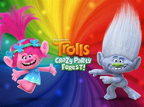 les trolls ubisoft lance les trolls crazy party forest