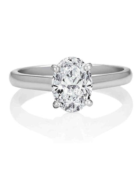 Oval Engagement Rings by Oval Engagement Rings For The To Be Martha Stewart