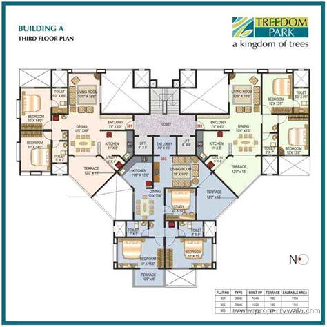 st joseph hospital floor plan mittal treedom park vishrantwadi pune residential project propertywala