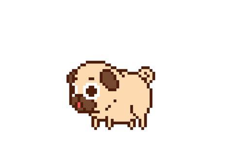 pixel pug animated pixel pug gif random things i