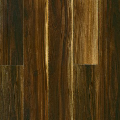 shop pergo max high gloss walnut wood planks sle