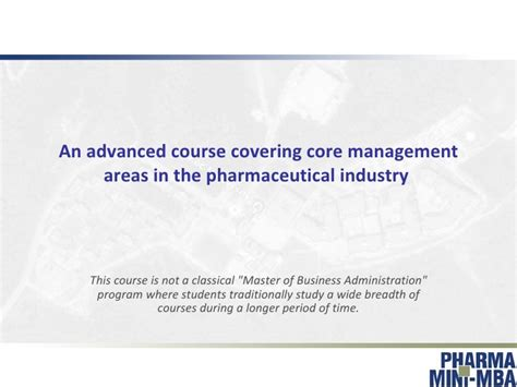 Mini Mba For Physicians by Pharma Executive Mini Mba