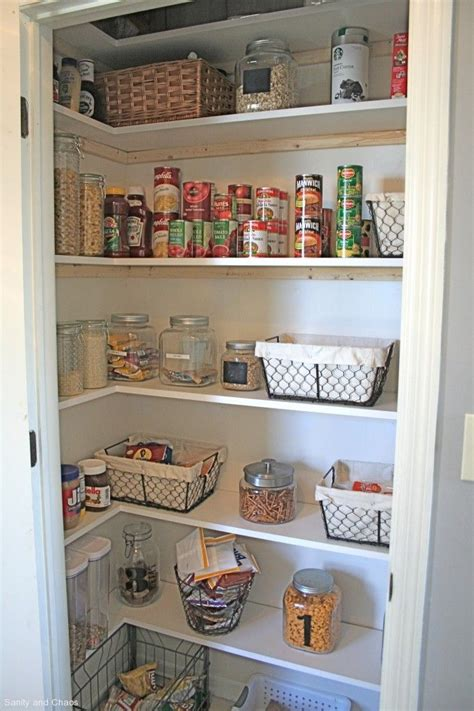 kitchen shelf organization ideas best 25 small pantry closet ideas on small