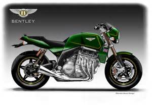 Bentley Motorcycle Bentley V6 Roadster Concept Motorcycle Way2speed