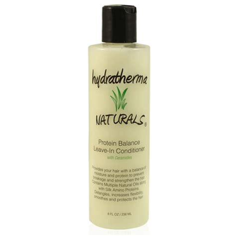 protein leave in conditioner hydratherma naturals protein balance leave in conditioner