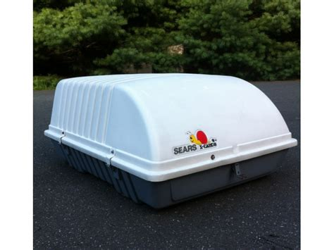 sears  cargo car top carrier  madison nj patch