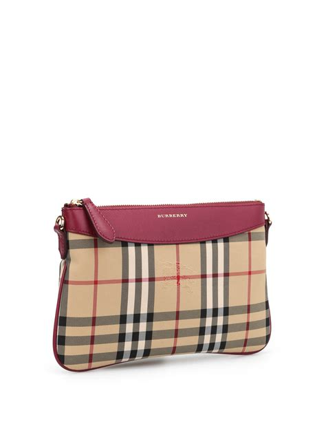 Burberry Wristlet by Horseferry Check Peyton Wristlet By Burberry Clutches