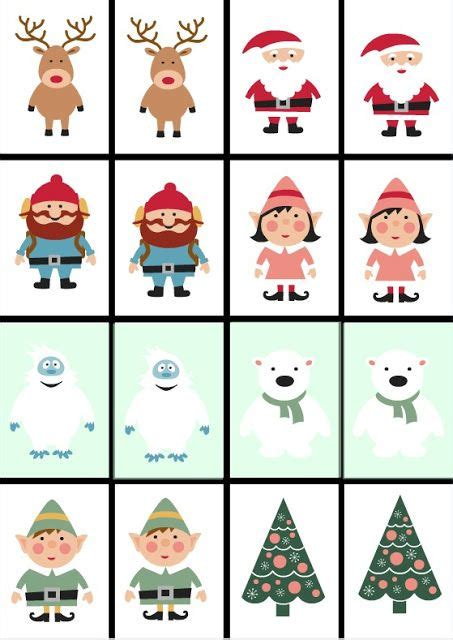 free printable christmas memory games free printable christmas games including christmas