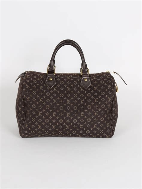 Ultra Exclusive Bags From Louis Vuitton by Louis Vuitton Speedy 30 Monogram Mini Ebene Luxury