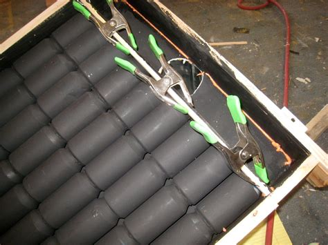 solar garage heater modernize