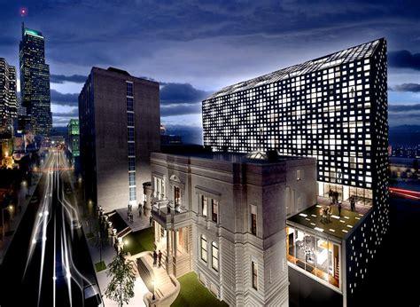 montreal luxury hotel drummond street  architect