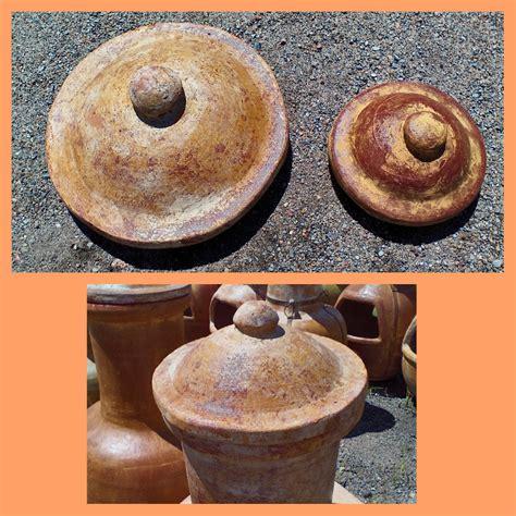 chiminea topper clay chiminea caps woodard mercantile