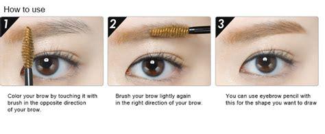 Etude Color My Brows Big Size 9 Gr Rich Brown etude house color my brows browcara big size 9ml ebay