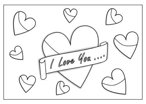 i love you coloring book pages coloring pages i love you coloring pages getcoloringpages