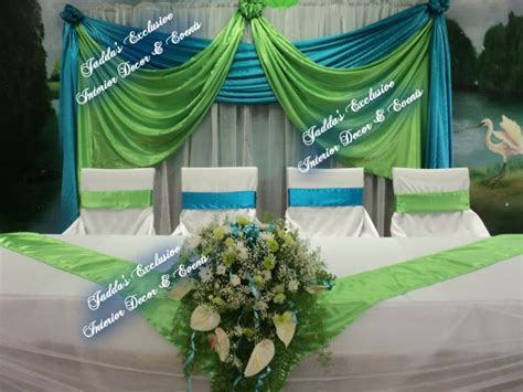 lime green and turquoise wedding     Events (Weddings