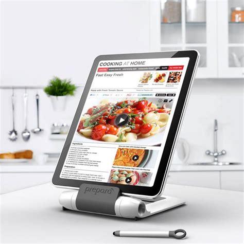 tablette recette de cuisine support pour tablette i prep sp 233 cial cuisine cuisine au