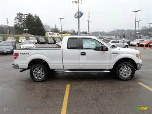 2012 Ford F150 4x4 Oxford White 2012 Ford F150 Xlt Supercab 4x4 Exterior
