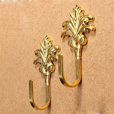 where to hang curtain tie backs on wall 1 pair of maple leaf curtain tie backs tiebacks holder