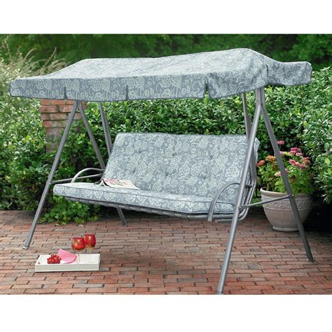 kmart patio swing rectangular shade swing replacement canopy remake the