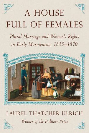 in defense of plural marriage books harvard book store laurel thatcher ulrich discusses quot a