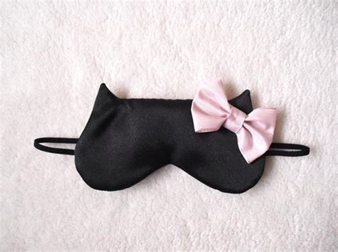 Sleep Accessories | glamorous cat inspired sleep accessories by naomilingerie
