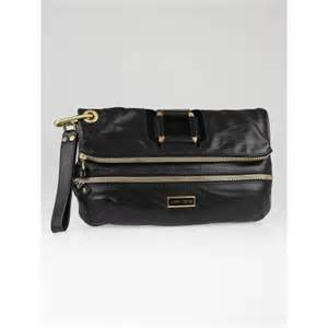 Jimmy Choo Oversized Day Clutch by Jimmy Choo Black Calfskin Leather Marin Oversized Clutch