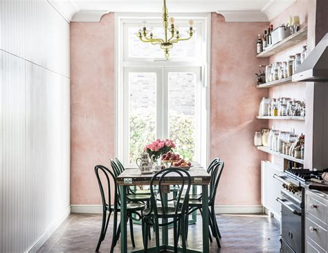 Country Kitchen Wall Nj by Room Of The Week Pink Plaster Walls In A Farmhouse