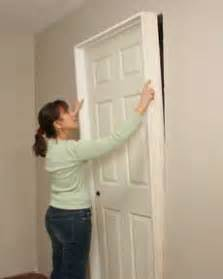 how to install a door hometips