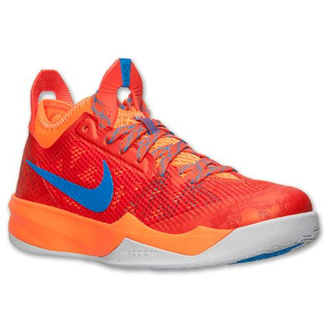 outdoor basketball shoes 2014 nike zoom crusader outdoor team orange photo blue sole