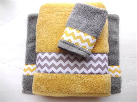 Gray And Yellow Bathroom Accessories Your Size Towel Yellow And Grey Towels Gray And Yellow