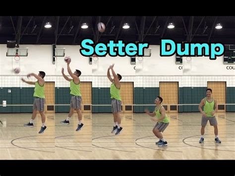 Volleyball Setter Dump Drills | full download setter attacks dumps