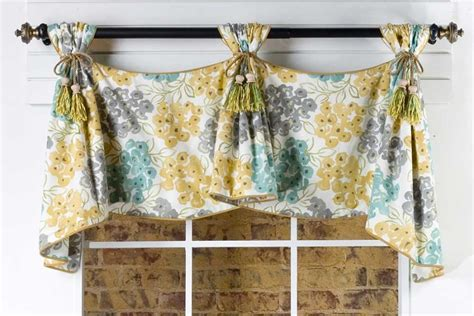 sewing pattern valance celebrity curtain valance sewing pattern