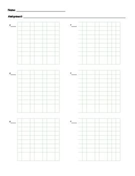 printable graph paper for math homework math homework paper for students with adhd or dyslexia by