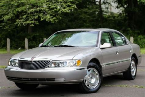 auto body repair training 2002 lincoln continental auto manual buy used 2002 lincoln continental 1 owner v8 southern serviced super low 16k miles carfax in