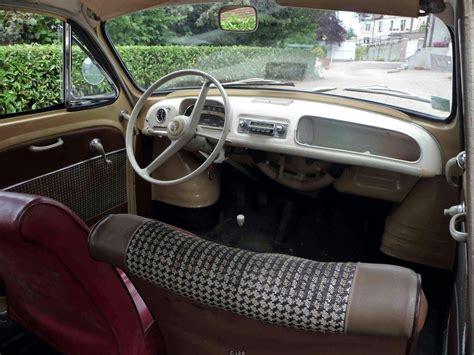 renault dauphine interior renault dauphine ondine cars interior