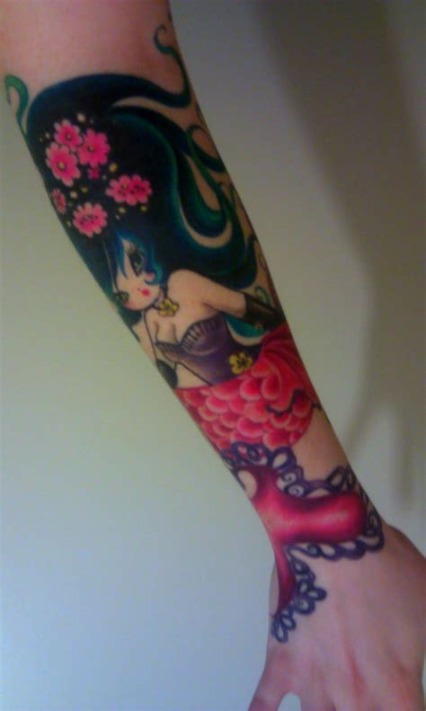 dreamland tattoo junko mizuno mermaid princess an inked dreamland