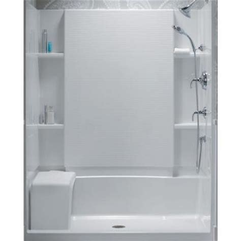 sterling accord bath shower sterling accord 36 in x 60 in x 55 1 8 in bath and