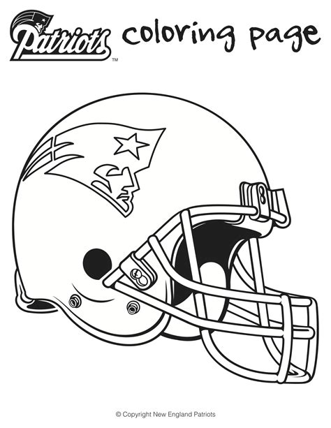 nfl coloring pages patriots here are is a printable patriots football coloring sheets