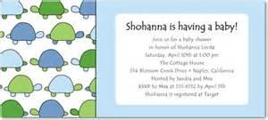 tiny turtles studio basics baby shower invitations in