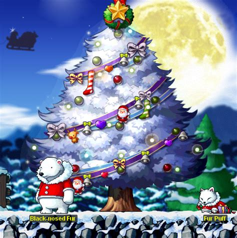 christmas tree decorations maplestory christmas decorating