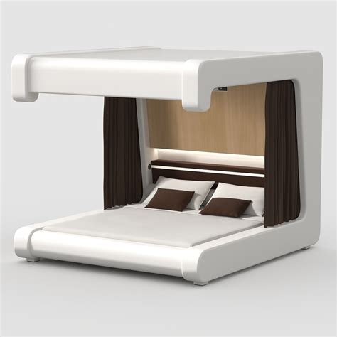 futuristic beds futuristic bed 3ds