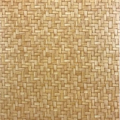 pattern wall covering vinyl wallpaper wallcovering textured faux wicker bamboo