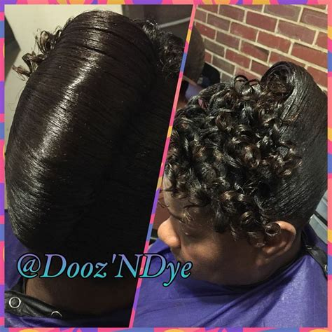 hairstyles  black women updo hairstyles relaxed