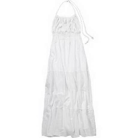 Maxi Aida Blue Denim white cotton maxi dresses